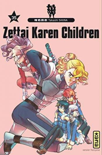 Couverture de l'album Zettai Karen Children - 35. Tome 35