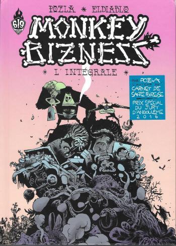 Couverture de l'album Monkey Bizness - INT. Monkey bizness