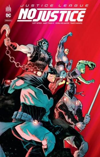 Couverture de l'album Justice League - No Justice (One-shot)