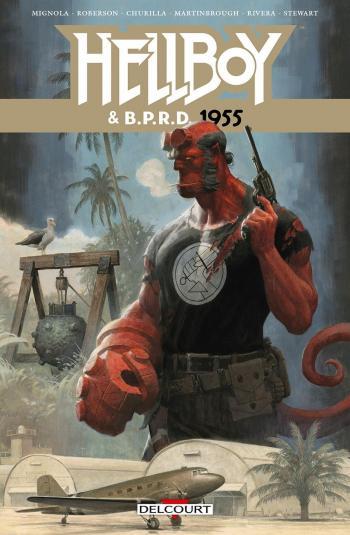 Couverture de l'album Hellboy & B.P.R.D. - 4. 1955