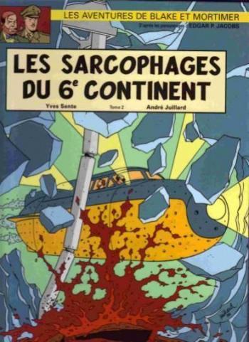Couverture de l'album Blake et Mortimer (Blake et Mortimer) - 17. Les sarcophages du 6e continent (Tome 2)
