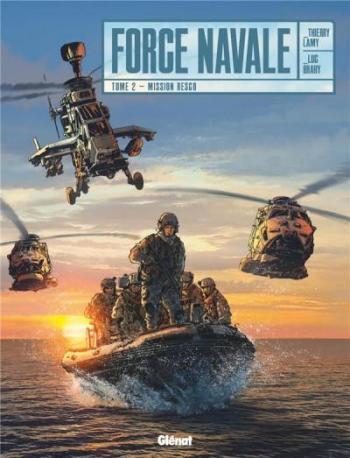 Couverture de l'album Force Navale - 2. Mission Resco