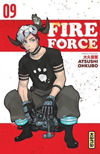 Couverture de l'album Fire Force - 9. Tome 9