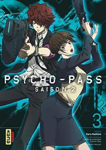 Couverture de l'album Psycho-Pass - Saison 2 - 3. Tome 3