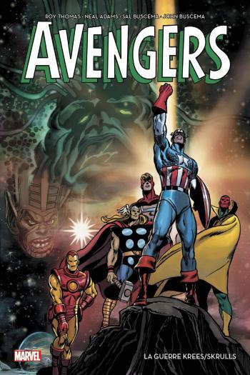 Couverture de l'album Avengeurs - La guerre Krees/Skrulls (One-shot)