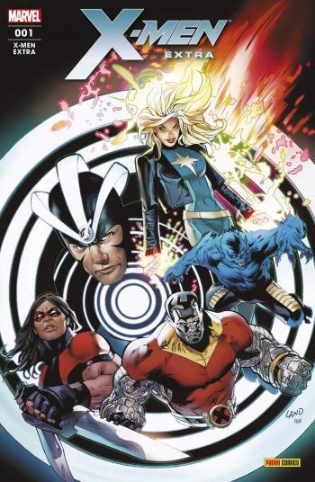 Couverture de l'album X-Men extra (V2) - 1. Jusqu'à notre dernier souffle