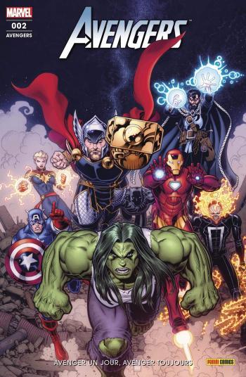 Couverture de l'album Avengers (V6) - 2. Avenger un jour, Avenger toujours