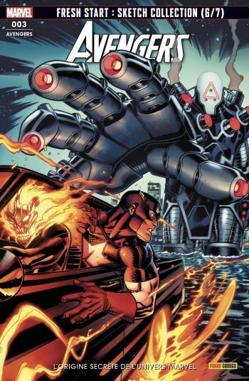 Couverture de l'album Avengers (V6) - 3. L'origine secrète de l'univers Marvel