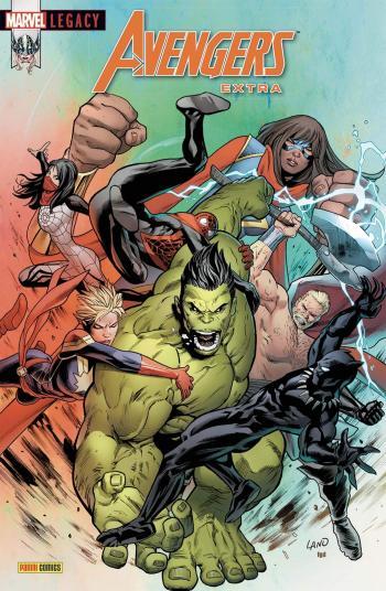 Couverture de l'album Marvel Legacy : Avengers Extra - 5. World War Hulk II