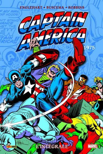 Couverture de l'album Captain America (L'Intégrale) - 9. 1975