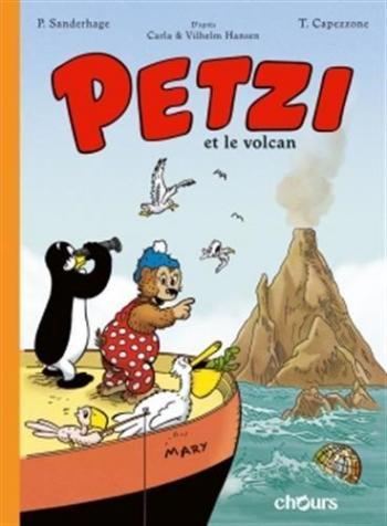 Couverture de l'album Petzi (Chours) - 1. Petzi et le volcan