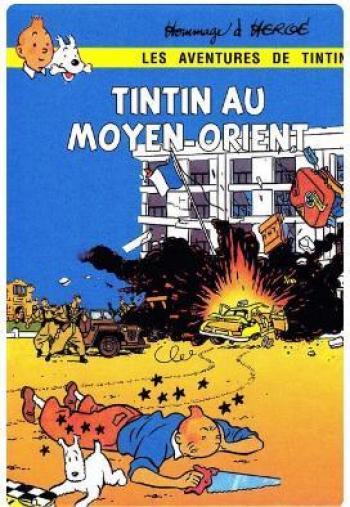 Couverture de l'album Tintin (Pastiches, parodies et pirates) - HS. Tintin au Moyen-Orient
