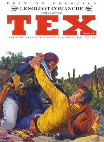 Couverture de l'album Tex (Spécial) - 8. Le soldat comanche