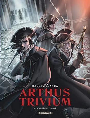 Couverture de l'album Arthus Trivium - 4. Armée invisible (L')