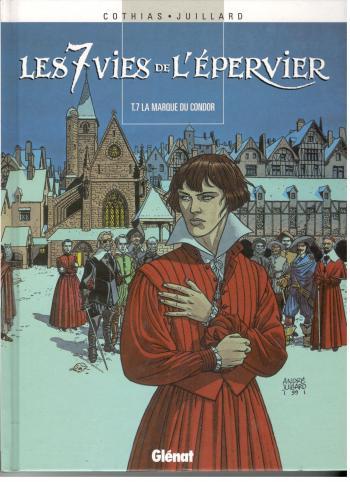 Couverture de l'album Les 7 Vies de l'Épervier - 7. La Marque du Condor
