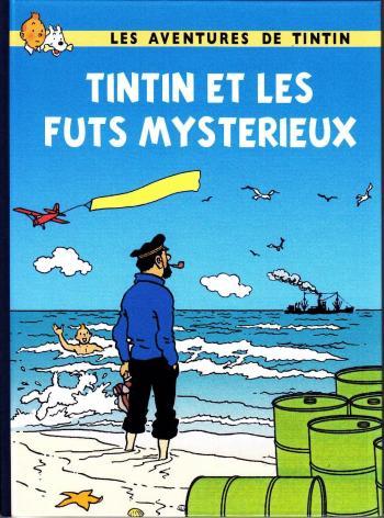 Couverture de l'album Tintin (Pastiches, parodies et pirates) - HS. Tintin et les futs mystérieux