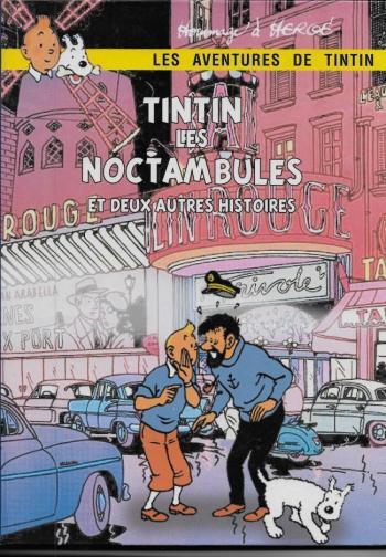 Couverture de l'album Tintin (Pastiches, parodies et pirates) - HS. Tintin et les noctambules et deux autres histoires