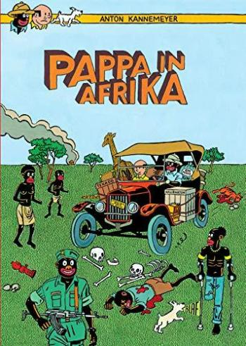 Couverture de l'album Tintin (Pastiches, parodies et pirates) - HS. Pappa in Afrika