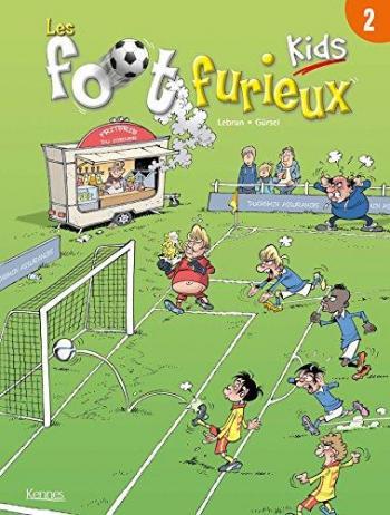 Couverture de l'album Les Foot Furieux Kids - 2. Tome 2