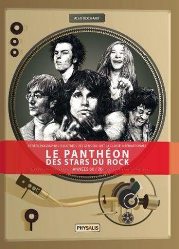 Couverture de l'album Le Panthéon des stars du rock - 1. Années 60-70