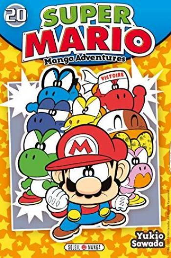 Couverture de l'album Super Mario - Manga Adventures - 20. Super Mario - Tome 20