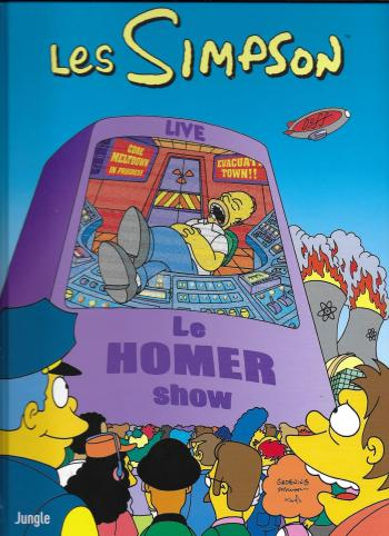 Couverture de l'album Les Simpson (Jungle) - 38. Le Homer show