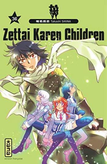 Couverture de l'album Zettai Karen Children - 36. tome 36
