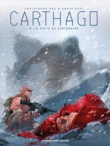 Couverture de l'album Carthago - 9. Le Pacte du Centenaire