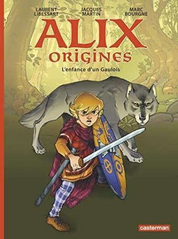 Couverture de l'album Alix origines - 1. L'enfance d'un gaulois