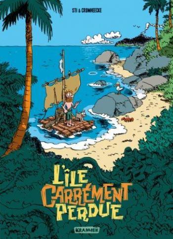 Couverture de l'album île carrement perdue (l') - 1. Grog en stock