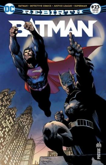 Couverture de l'album Batman Rebirth (Urban Presse) - 23. Action Comics : mille épisodes !