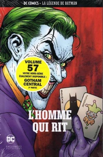Couverture de l'album DC Comics - La légende de Batman - 4. L'homme qui rit