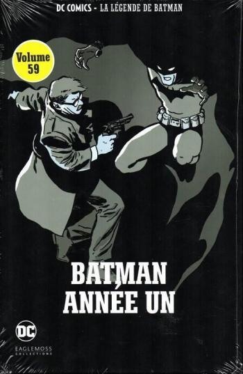 Couverture de l'album DC Comics - La légende de Batman - 3. Batman année un
