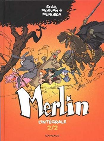 Couverture de l'album Merlin (Joann Sfar) - INT. L'Intégrale 2/2