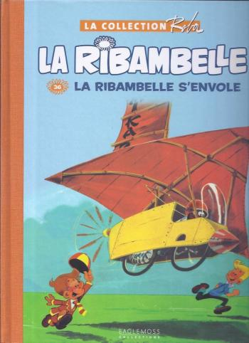 Couverture de l'album La Collection Roba (Boule & Bill - La Ribambelle) - 36. La ribambelle s'envole