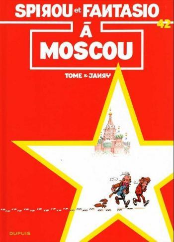 Couverture de l'album Spirou et Fantasio - 42. Spirou et Fantasio à Moscou