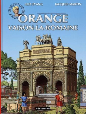 Couverture de l'album Les Voyages d'Alix - 31. Orange Vaison-la-romaine