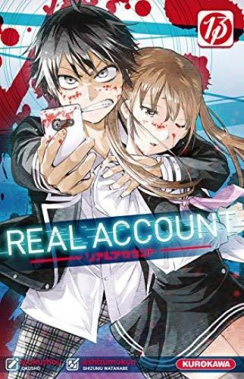 Couverture de l'album Real Account - 13. Tome 13