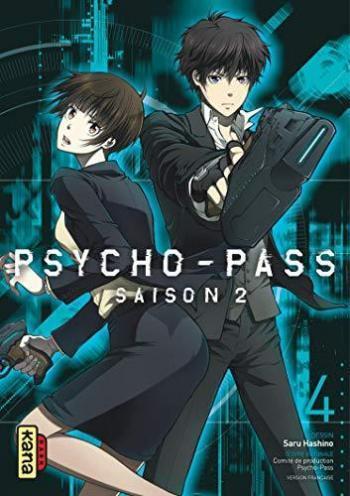 Couverture de l'album Psycho-Pass - Saison 2 - 4. Tome 4
