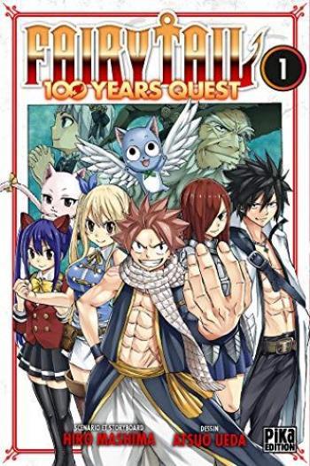 Couverture de l'album Fairy Tail - 100 Years Quest - 1. Tome 1
