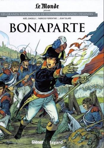 Couverture de l'album Les Grands Personnages de l'Histoire en BD - 1. Bonaparte (1769 - 1821)