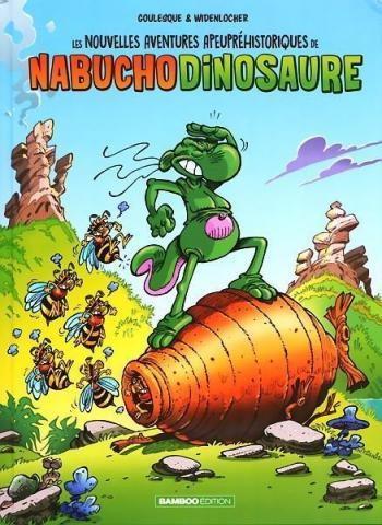 Couverture de l'album Les Nouvelles Aventures Apeupréhistoriques de Nabuchodinosaure - 2. Tome 2