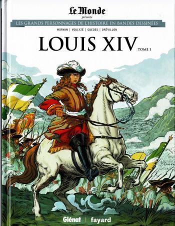 Couverture de l'album Les Grands Personnages de l'Histoire en BD - 4. Louis XIV (tome 1)
