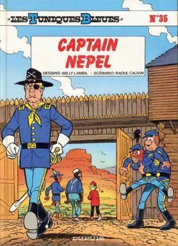 Couverture de l'album Les Tuniques bleues - 35. Captain Nepel