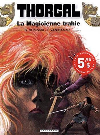 Couverture de l'album Thorgal - 1. La magicienne trahie
