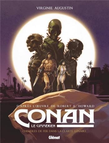 Couverture de l'album Conan le Cimmérien - 6. Chimères de fer dans la clarté lunaire