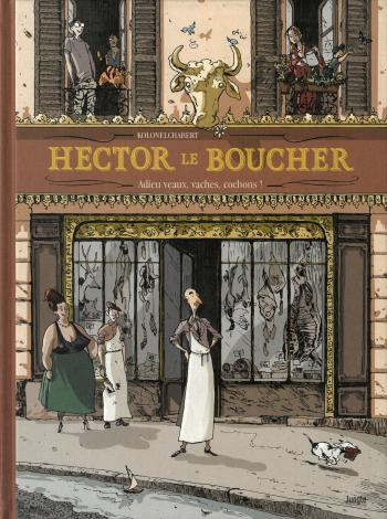 Couverture de l'album Hector le boucher (One-shot)