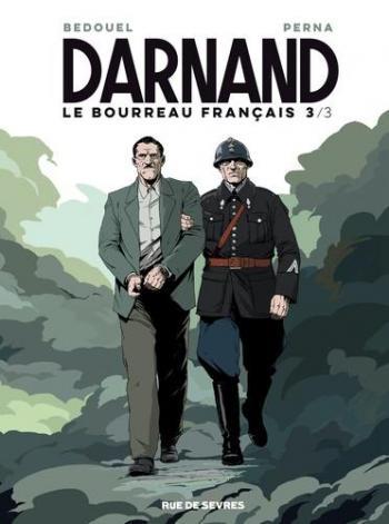 Couverture de l'album Darnand, le bourreau français - 3. Tome 3