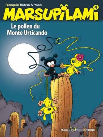 Couverture de l'album Marsupilami - 4. Le pollen de Monte Urticando