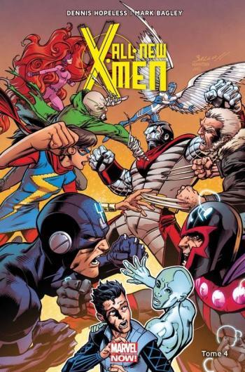 Couverture de l'album All-New X-Men (Marvel Now! V2) - 4. Tome 4